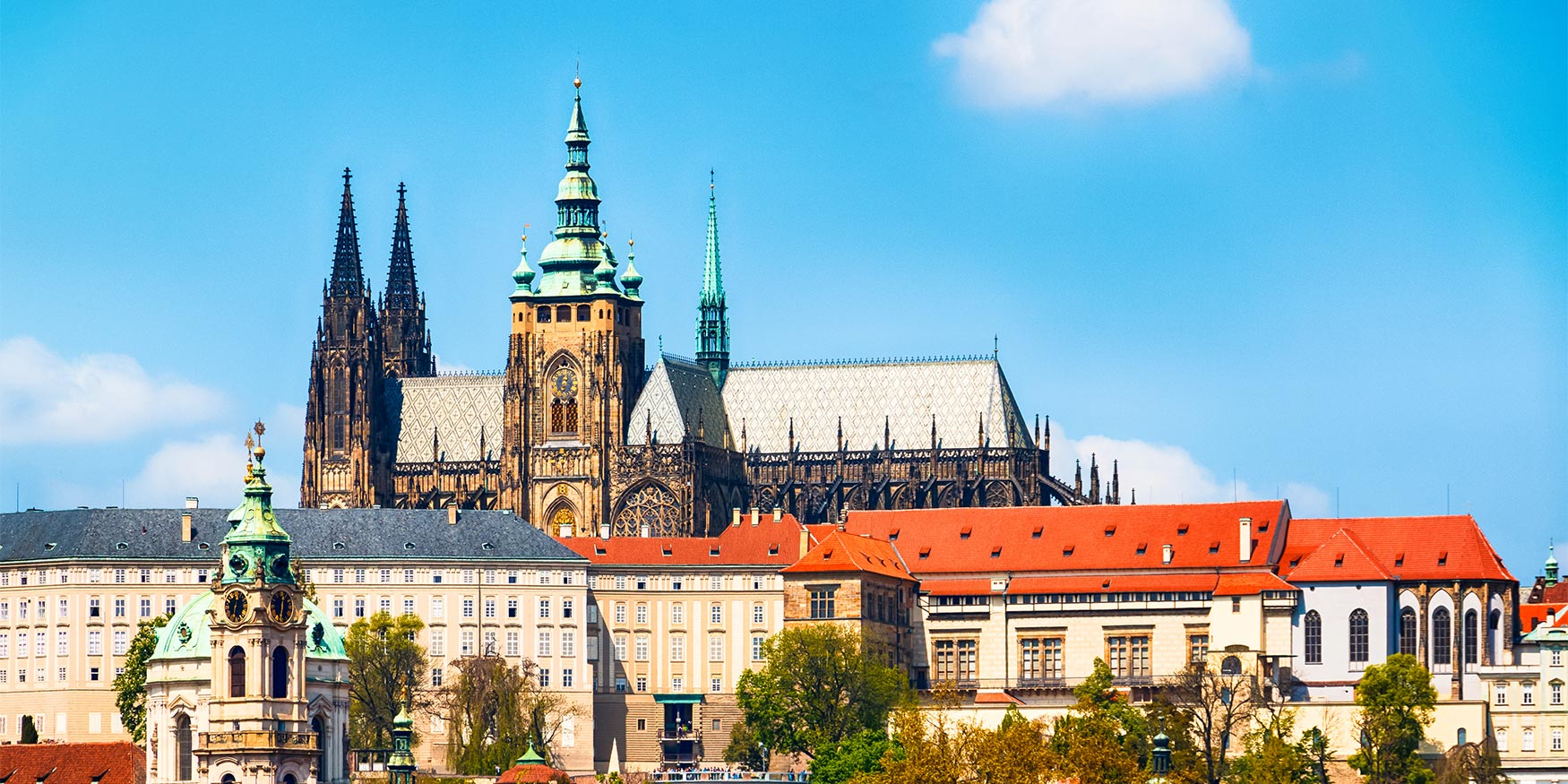 St Vitus Cathedral and Prague Castle, Czechia