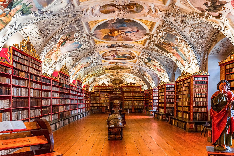 Strahov Monastery. Prague, Czechia